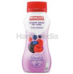 Marigold Fat Free Yogurt Drink Mixed Berries 200ml