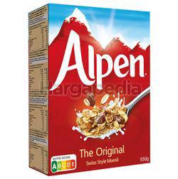 Alpen Muesli Original 550gm
