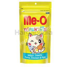 Me-O Cat Treat Tuna Chicken Egg 50gm
