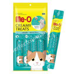 Me-O Creamy Cat Treat Bonito Flavour 4x15gm