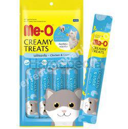Me-O Cat Lick Chicken & Liver Flavour 4x15gm