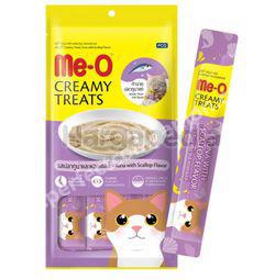 Me-O Cat Lick Tuna & Scallop Flavour 4x15gm