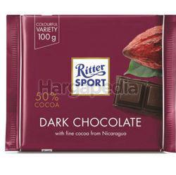 Ritter Sport Dark Chocolate 50% 100gm