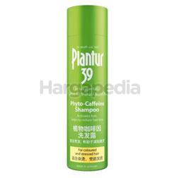 Plantur 39 Phyto Caffeine Coloured & Stressed Hair Shampoo 250ml