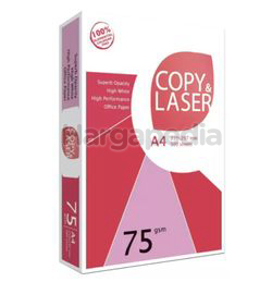 Copy & Laser A4 Paper 75gsm 500s