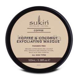 Sukin Coffee & Coconut Exfoliating Facial Masque 100ml