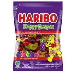 Haribo Happy Grapes 80gm