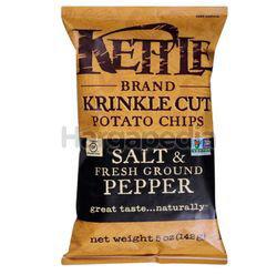Kettle Chips Salt & Fresh Ground Pepper 142gm