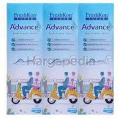 Freshkon Clear Advance Multi Purpose Solution 3x360ml
