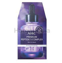 AHC Premium Peptide5 Complex Skin Fit Mask 5s