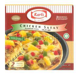 Kart's Pizza Chicken Satay  2x140gm