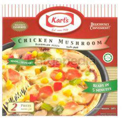 Kart's Pizza Chicken Mushroom  2x140gm