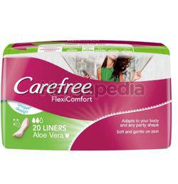 Carefree FlexiComfort Aloe Vera Liners 40s
