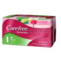 Carefree Aloe Vera Breathable Pantyliner 20s
