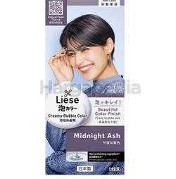 Liese Creamy Bubble Hair Color Midnight Ash 1set
