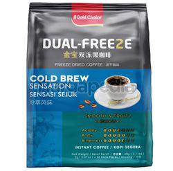 Gold Choice Dual-Freeze Cool Brew Sensation Black Coffee 30x2gm