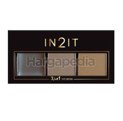 In2it 2in1 Eyebrow Palette 1s