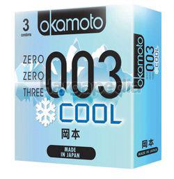Okamoto 003 Cool Condom 3s