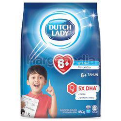 Dutch Lady 6+ Plain 850gm
