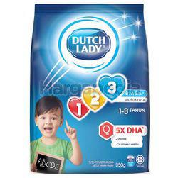 Dutch Lady 123 Plain 850gm