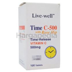 Live-Well Time C-500mg 100s