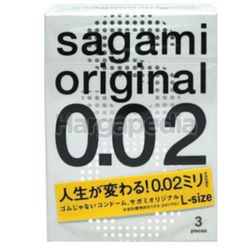 Sagami Original 0.02 Large 3s