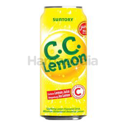 Suntory C.C Lemon Carbonated Vit C Drink 325ml