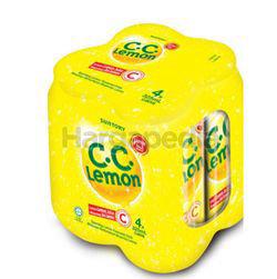 Suntory C.C Lemon Carbonated Vit C Drink 4x325ml