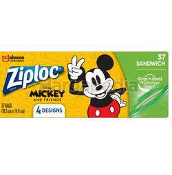 Ziploc Disney Mickey Sandwich Bag 66s