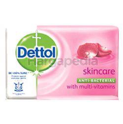 Dettol Bar Soap Skincare 3x65gm