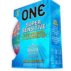 ONE Condoms Super Sensitive 3s