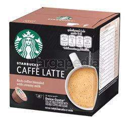 Starbucks Caffe Latte 12 Cap 195gm
