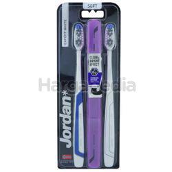 Jordan Adult Expert White Soft Toothbrush 2s