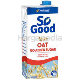 So Good Oat Unsweetened No Added Sugar 1lit