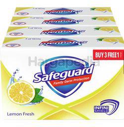 Safeguard Lemon Fresh Soap Bar Infini Shield 4x85gm