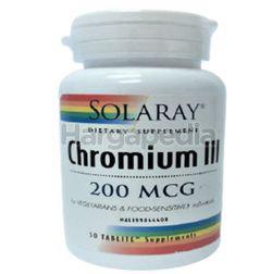 Solaray Chromium III 50s