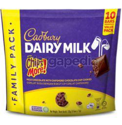 Cadbury Dairy Milk Chipsmore Mini Bars (10x15gm) 150gm