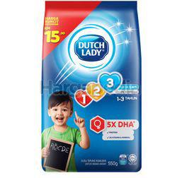 Dutch Lady 123 Plain 550gm