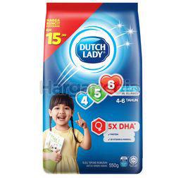 Dutch Lady 456 Plain 550gm