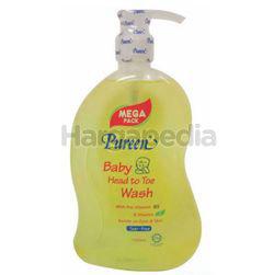 Pureen Baby Head To Toe Wash 1lit