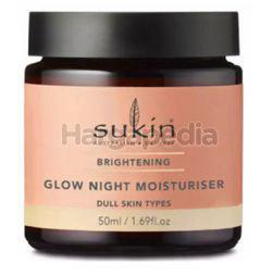 Sukin Brightening Glow Night Moisturiser 50ml