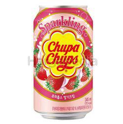 Chupa Chups Sparkling Strawberry Cream 345ml