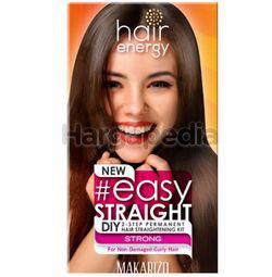 Makarizo DIY 2-Step Permanent Hair Straightening Kit Strong 240ml