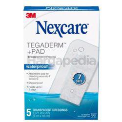 3M Nexcare Tegaderm + Pad Dressing 5s