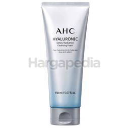 AHC Hyaluronic Dewy Radiance Cleansing Foam 150ml