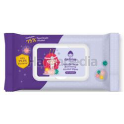 Au Fairy Anti Bacterial Sanitizing Alcohol Wipes 50s
