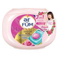 ar FUM Laundry Capsules Rose 42x12gm