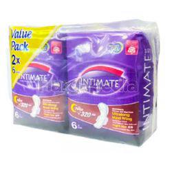 Intimate Cottony Surface Night Guard Ultralong Maxi Wing 2x6s