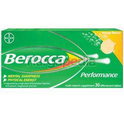 Berocca Effervescent Tablet Mango 30s