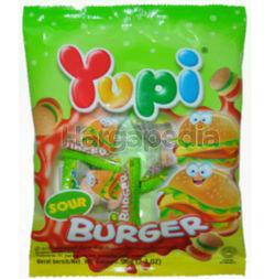 Yupi Gummy Candies Sour Burger 96gm